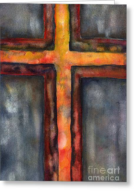 Maundy Thursday Greeting Card by Ruth Borges