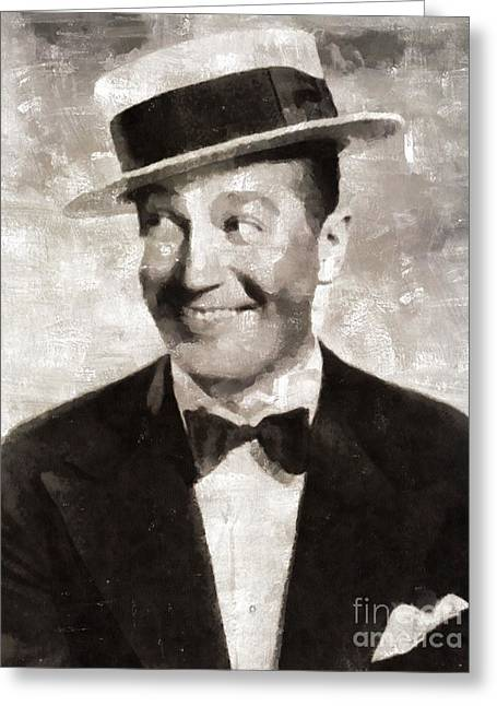 Maurice Chevalier, Actor Greeting Card
