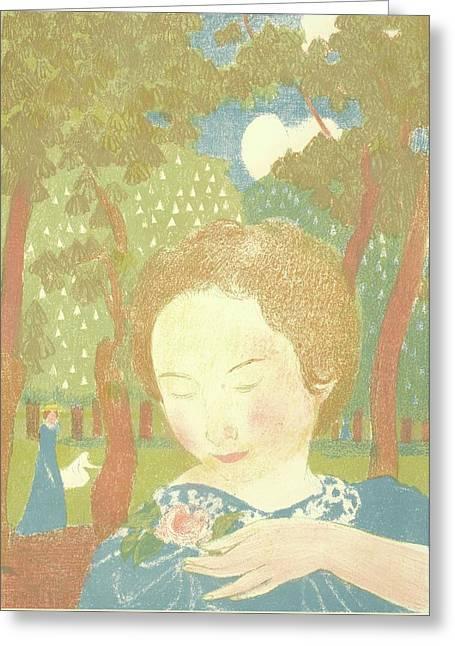 Maurice Denis Greeting Card by MotionAge Designs