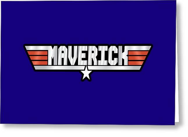 Maverick Callsign Greeting Card