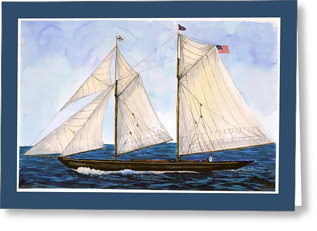 Mavis 1901 Greeting Card