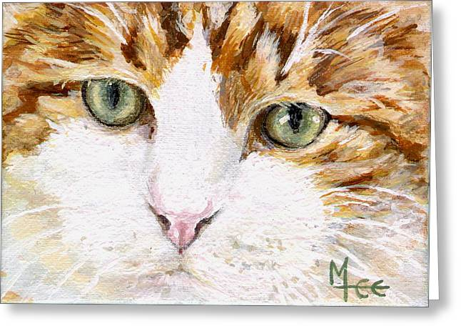 Max Greeting Card by Mary-Lee Sanders