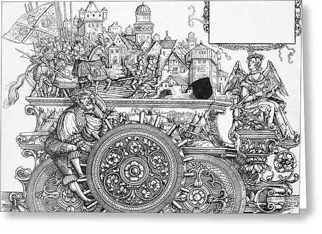 Maximilian I 1459-1519 Greeting Card by Granger
