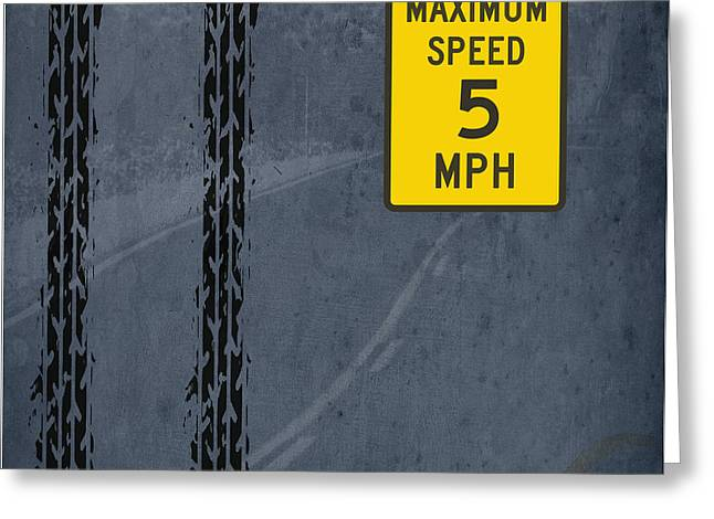 Maximum Speed Greeting Card by Pablo Franchi