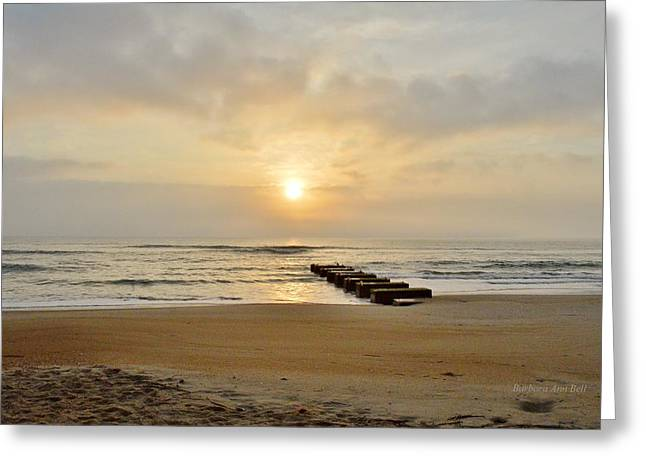 May 13 Obx Sunrise Greeting Card