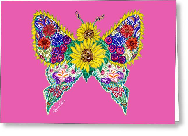 May Butterfly Greeting Card