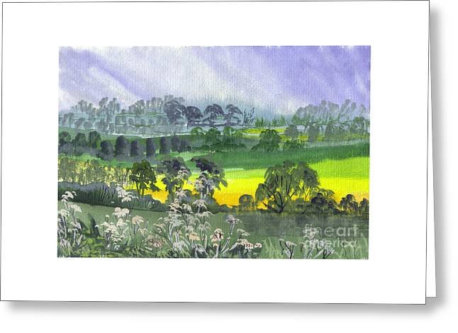 May Essex Uk Greeting Card by Dianne Green