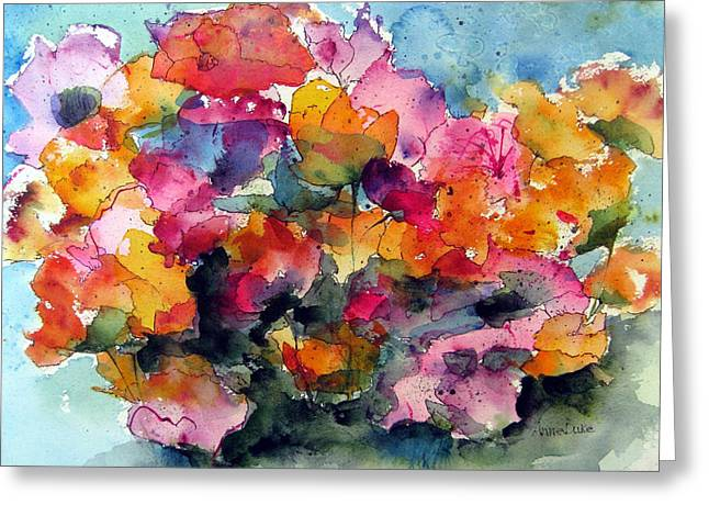 May Flowers Greeting Card by Anne Duke