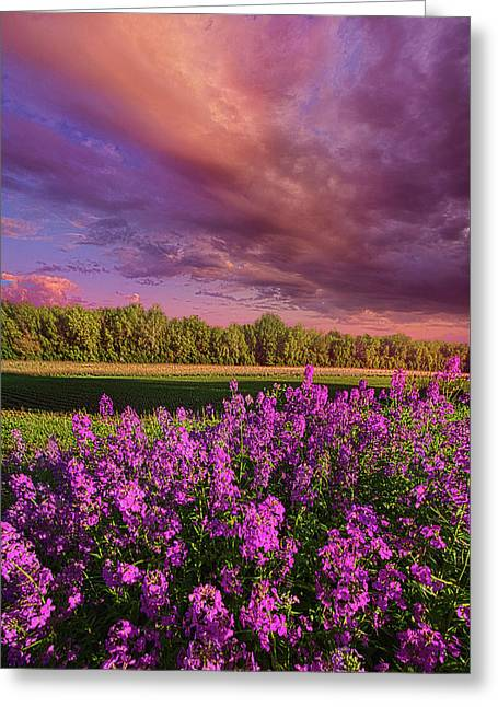 May It Be Greeting Card by Phil Koch