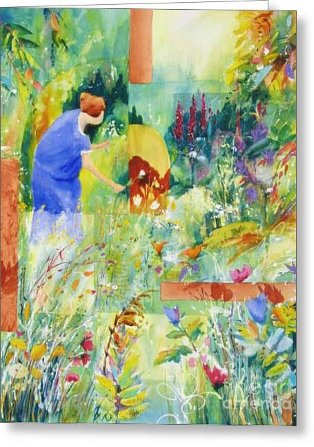 May Meadow Greeting Card
