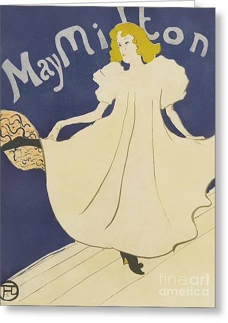 May Milton  Greeting Card