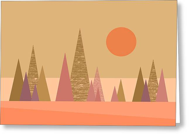 May Morning Sunrise Greeting Card by Val Arie
