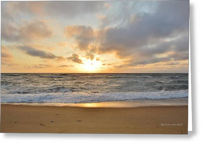May Sunrise In Obx Greeting Card