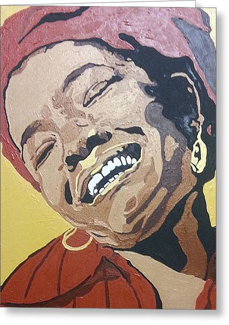 Maya Angelou Greeting Card