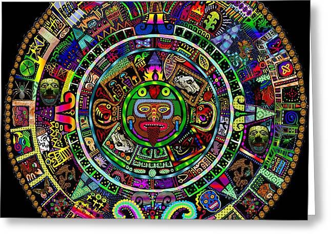 Maya Calendar Redux Greeting Card