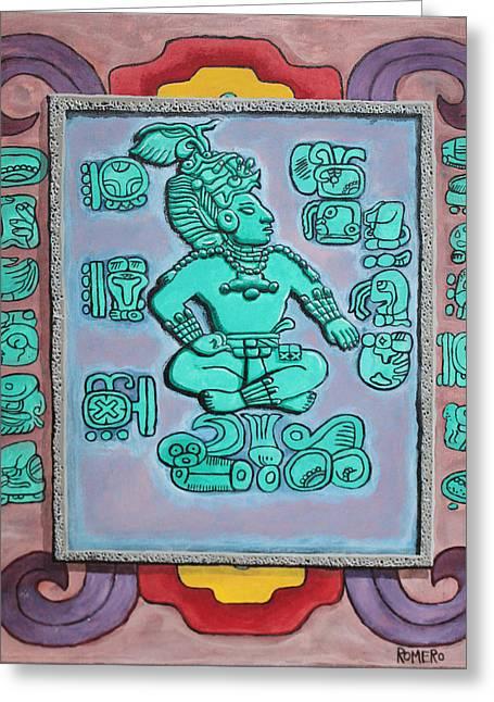 Mayan Prince Greeting Card