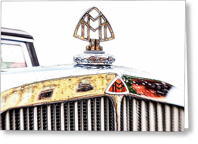 Maybach 12 Cyl. Hood Ornament Greeting Card