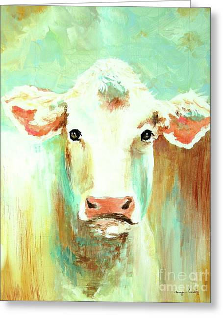 Maybell The Cow Greeting Card