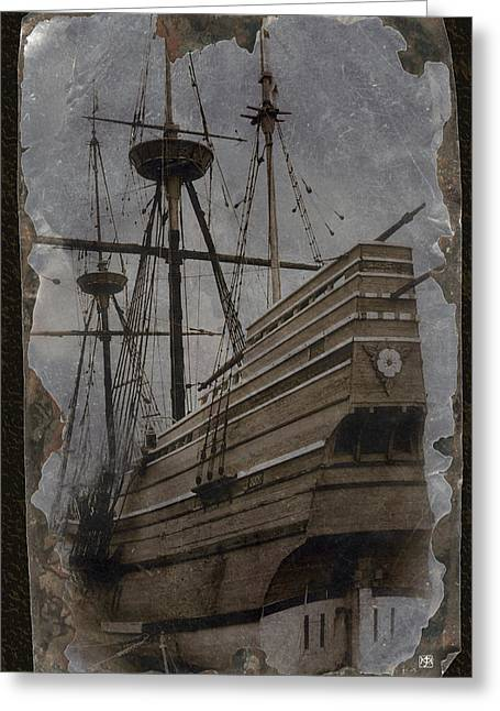 Mayflower 1 Greeting Card