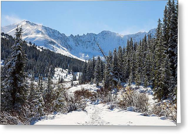 Mayflower Gulch Greeting Card