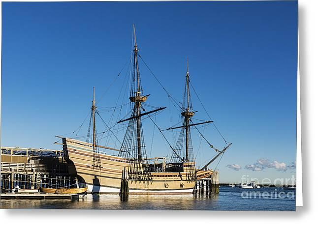 Mayflower II Greeting Card by John Greim