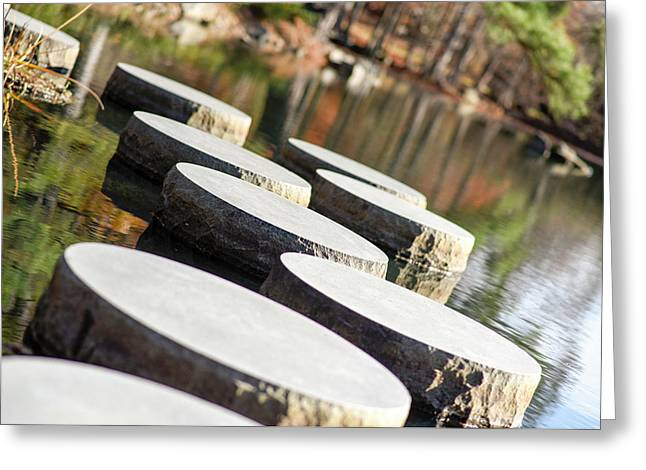 Maymont Stepping Stones Greeting Card