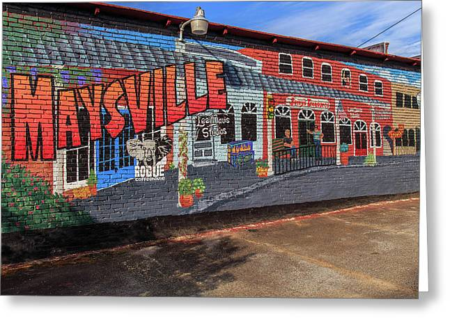 Maysville Mural Greeting Card