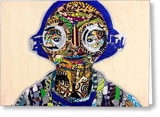 Maz Kanata Star Wars Awakens Afrofuturist Colection Greeting Card
