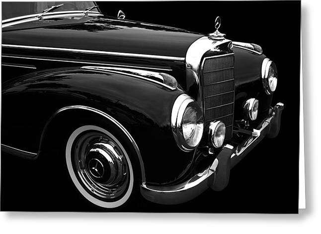 50 Merc Greeting Cards - Mb Greeting Card by Bill Dutting