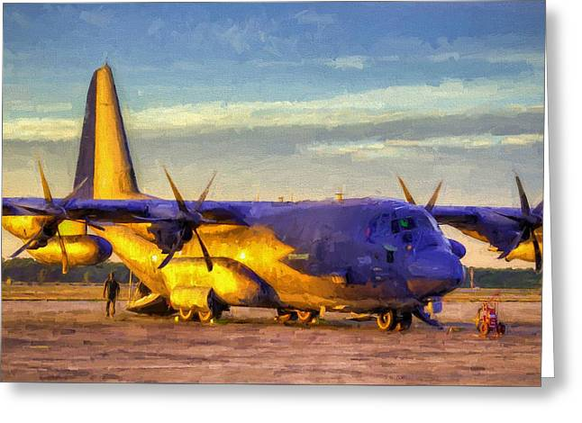 Mc-130j Greeting Card by JC Findley