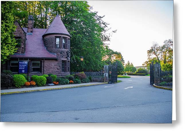 Mcauley Hall - Salve Regina University Newport Rhode Island Greeting Card