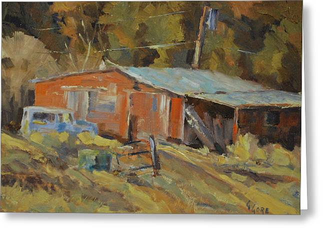 Mccarthy's Shed Greeting Card by Gary Gore