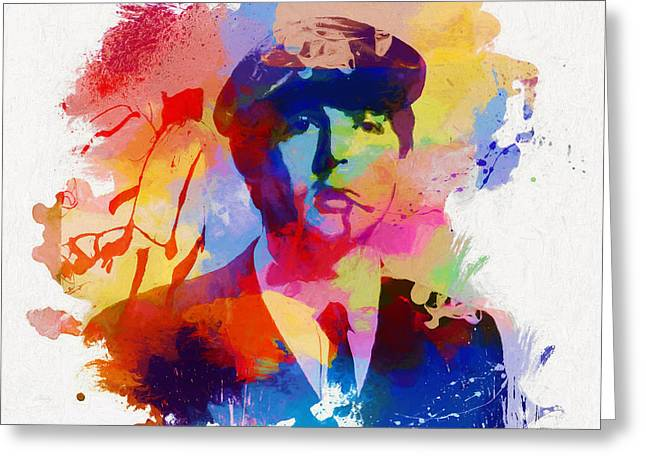 Mccartney Greeting Card by Dan Sproul