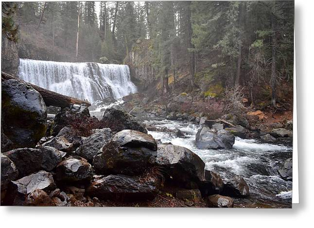 Mccloud Middle Fall Greeting Card