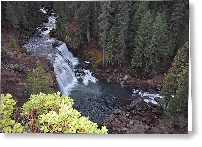 Mccloud River Falls Greeting Card