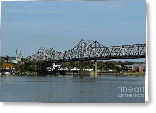 Mccluggage Bridge Greeting Card