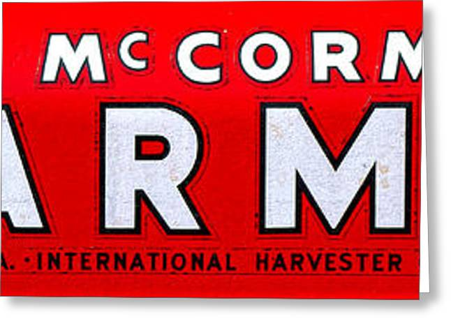 Mccormick Farmall By International Harvester Greeting Card by Olivier Le Queinec