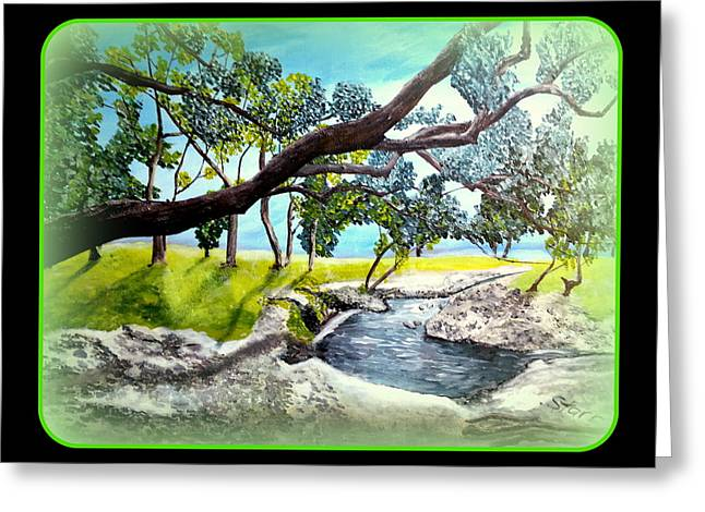 Mccoy Creek B Greeting Card by Irving Starr
