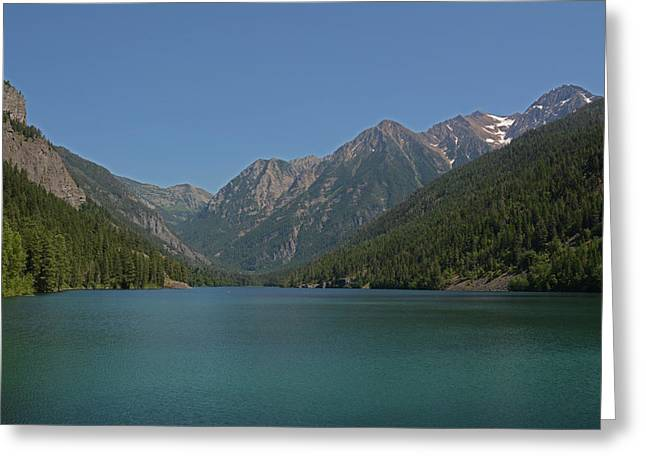 Mcdonald Lake- Ronan Montana Greeting Card