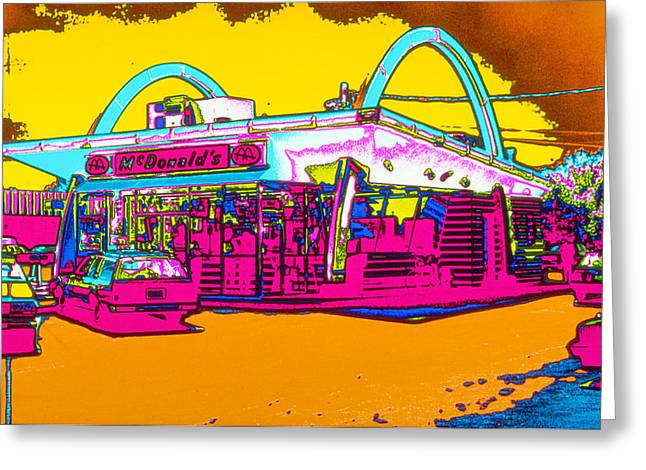 Mcdonalds Arches Greeting Card