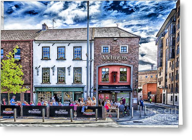 Mchugh's Bar, Belfast Greeting Card