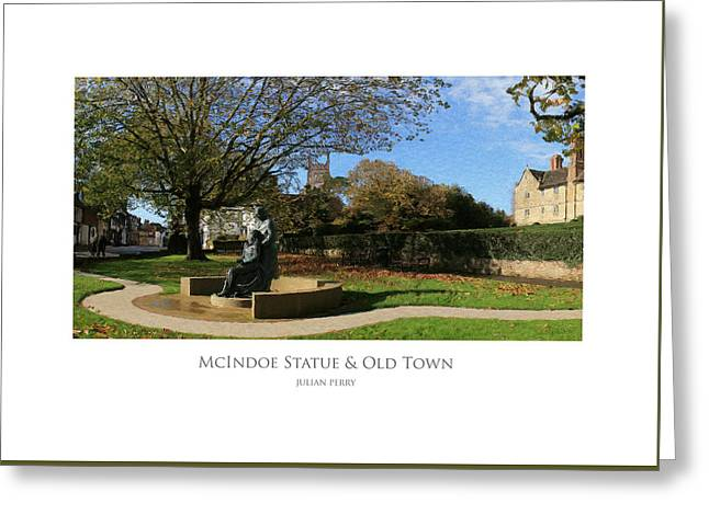Mcindoe Statue Greeting Card