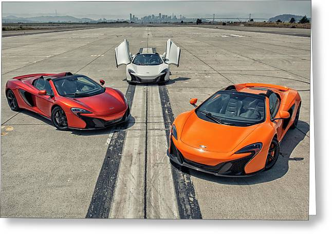 #mclaren #650s #party Greeting Card