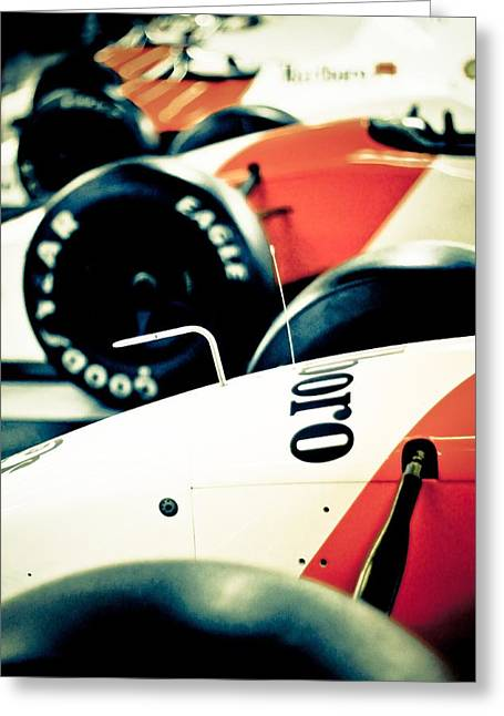 Mclaren Generations Greeting Card by Adam Smith