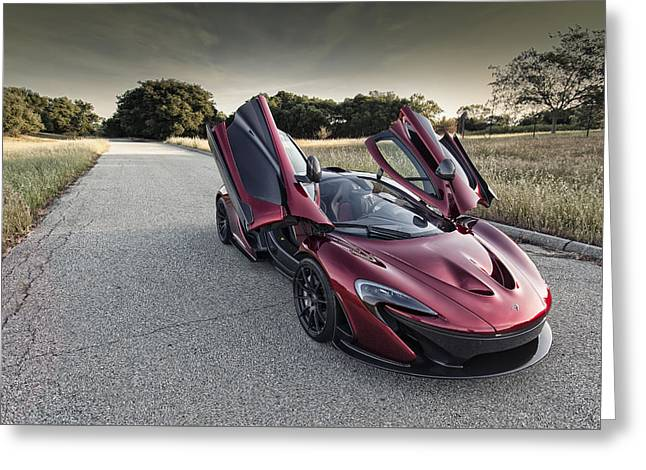 Mclaren P1 Greeting Card