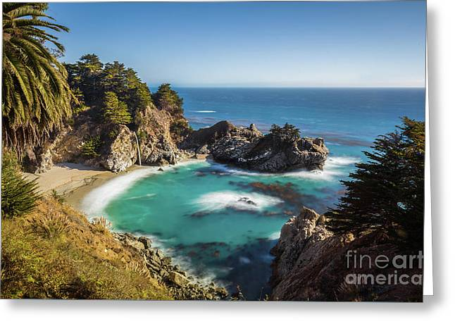 Mcway Falls Greeting Card by JR Photography