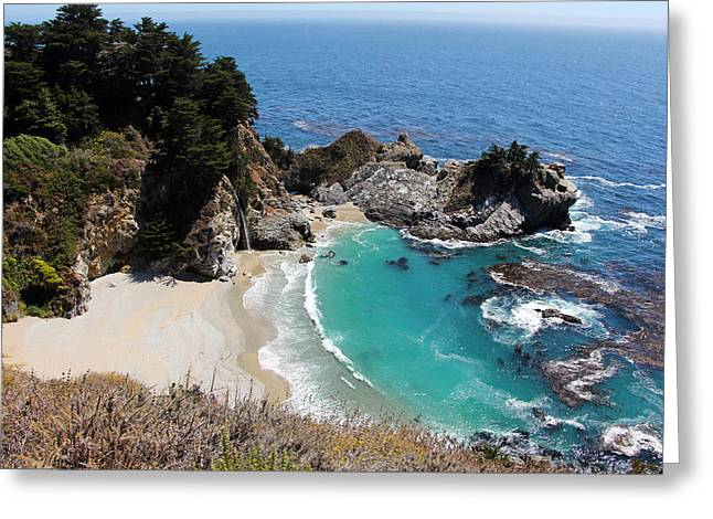 Mcway Falls Greeting Card by Sierra Vance
