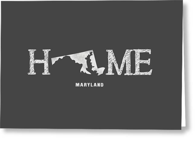 Md Home Greeting Card by Nancy Ingersoll