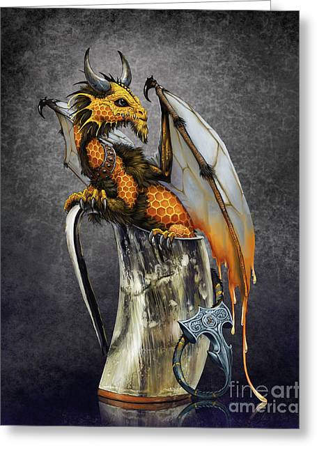 Mead Dragon Greeting Card