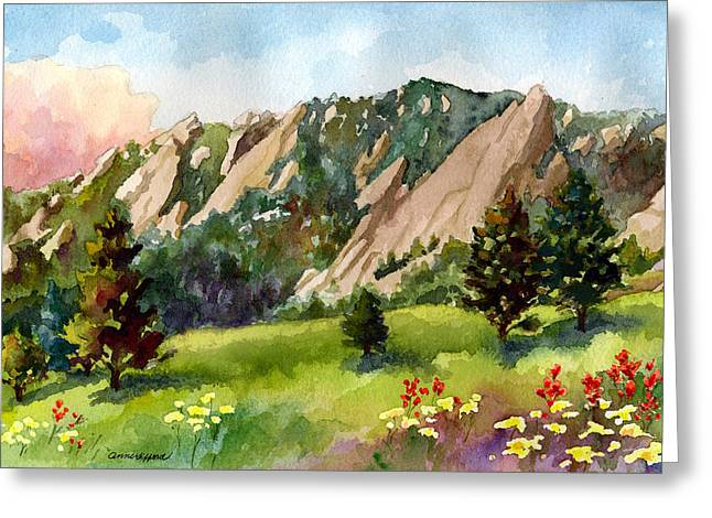 Meadow At Chautauqua Greeting Card